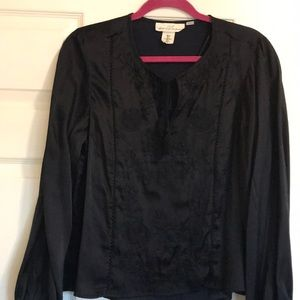 H&M Navy Blouse